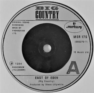 "Big Country - East Of Eden  (7"") (VG-/NM)"